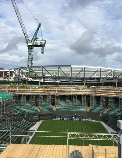 Wimbldon Court 1 Roof - Severfield